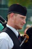 Żołnierz Czarnego zegarka Królewski Górski pułk Obrazy Royalty Free