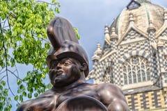 Żołnierz i pałac kultura zdjęcie royalty free