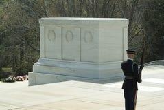 Grobowiec Niewiadomy żołnierz Zdjęcie Royalty Free