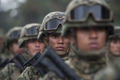 Żołnierz piechoty morskiej marynarka wojenna Obraz Stock