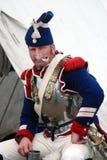 Żołnierza portret Wścieka się tubki Obraz Royalty Free