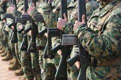Żołnierze obraz royalty free