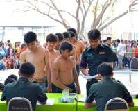Żołnierze rekrutacyjni zdjęcie royalty free