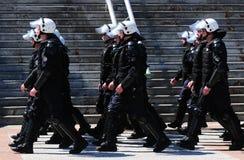 Żołnierze serb polici elita jednostki (MUP) fotografia royalty free