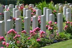 Żołnierzy Gravestones Zdjęcie Stock