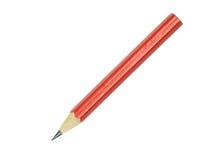 Ołowiany ołówek odizolowywający na białym tle Zdjęcia Stock