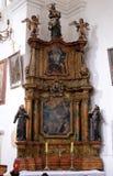Ołtarz święty Anthony w kościół święty Leonard Noblac w Kotari, Chorwacja Obraz Stock