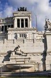 Ołtarz Fatherland, piazza Venezia, Rzym, Włochy Obraz Stock