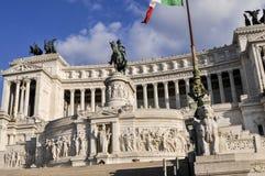 Ołtarz Fatherland, piazza Venezia, Rzym, Włochy Zdjęcie Stock