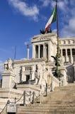 Ołtarz Fatherland, piazza Venezia, Rzym, Włochy Zdjęcia Royalty Free