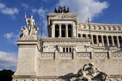 Ołtarz Fatherland, piazza Venezia, Rzym, Włochy Obrazy Royalty Free