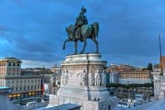 Ołtarz Fatherland - Rzym, Włochy zdjęcia stock