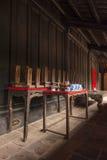 Ołtarz queens królewiątko Minh Mang Zdjęcia Stock