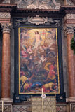 Ołtarz rezurekcja Chrystus, Salzburg katedra fotografia royalty free