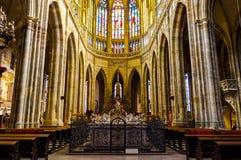 Inside świątobliwa vitus katedra 3 Obraz Stock