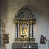 Ołtarz w kościół Zdjęcia Royalty Free