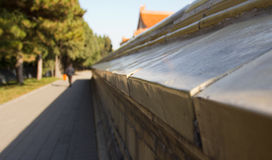 ołtarza ziemska żniw ściana Zdjęcie Stock