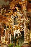 ołtarzowa wysokość barokowa Obrazy Royalty Free
