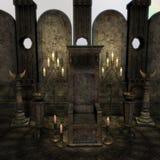 ołtarzowy archaiczny fantazi sanctum położenie Obrazy Stock