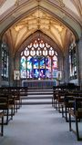 Ołtarzowy kościół Zdjęcia Stock