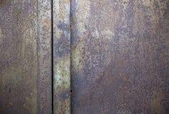 Ośniedziała żelazo powierzchnia Zdjęcie Stock
