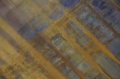 Ośniedziała abstrack przekątna Zdjęcie Stock