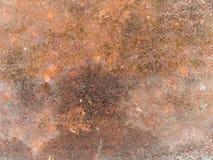 Ośniedziała makro- tekstura - metal - obrazy stock