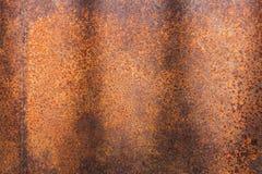 Ośniedziała metal tekstura lub ośniedziały metalu tło ośniedziały metal dla wewnętrznego zewnętrznego dekoracja projekta Zdjęcia Stock
