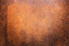 Ośniedziała metal tekstura lub ośniedziały metalu tło ośniedziały metal dla wewnętrznego zewnętrznego dekoracja projekta Zdjęcie Royalty Free