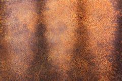 Ośniedziała metal tekstura lub ośniedziały metalu tło ośniedziały metal dla wewnętrznego zewnętrznego dekoracja projekta Fotografia Stock