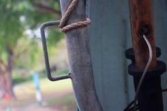 Ośniedziała stara łódź Zdjęcie Stock