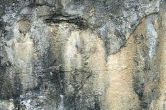 Ośniedziałe plamy na starej betonowej ściany teksturze, abstrakcjonistyczna obieranie farba na cement powierzchni teksturze, brud obraz royalty free