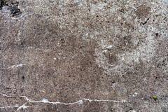 Ośniedziałe plamy na starej betonowej ściany teksturze, abstrakcjonistyczna obieranie farba na cement powierzchni teksturze, brud zdjęcie stock