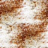 Ośniedziałego grunge bezszwowa tekstura żelazo z miejscem Obrazy Royalty Free