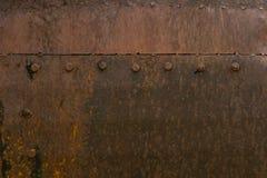 Ośniedziałego metal rdzy żelaza metalu rdzy stara tekstura zdjęcia royalty free