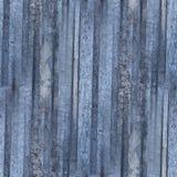 Ośniedziałego metal tekstury wzoru talerza błękita żelaza bezszwowy tło Zdjęcie Stock