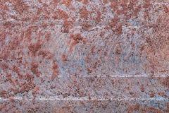 Ośniedziałej metal tekstury makro- tło zdjęcie royalty free