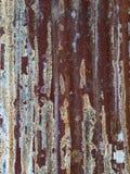 Ośniedziały cynk jako abstracted tło Obrazy Stock