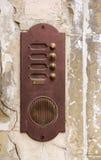 Ośniedziały drzwiowy dzwon Obraz Royalty Free