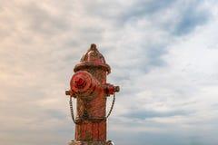 Ośniedziały hydrant Obraz Royalty Free