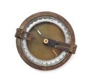 Ośniedziały kompas Obrazy Stock