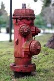 ośniedziały pożarniczy hydrant Fotografia Royalty Free