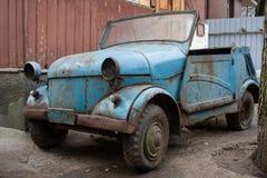 Ośniedziały samochód od USSR Zdjęcia Royalty Free