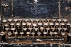 Ośniedziały stary maszyna do pisania Fotografia Royalty Free