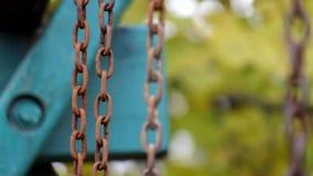 Ośniedziali łańcuchy kiwający delikatnie zbiory