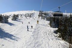 Ośrodek narciarski Kopaonik, Serbia obrazy royalty free