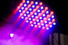 oświetlenie piękna scena Fotografia Stock