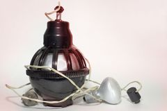 Oświetleniowa jednostka poprzednio używać w fotografii labs dla fotografia druku Obraz Royalty Free