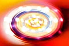 Oświetleniowa spirala fotografia stock