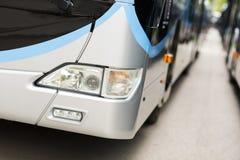 Oświetleniowego systemu światła autobus Zdjęcia Stock